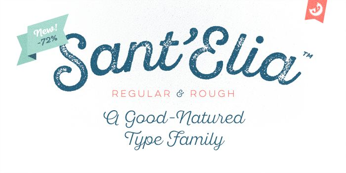 Sant'Elia font - Fontfabric™ - Fontfabric™  Free for Commercial and Personal Use  Five (5) fonts – Rough Line (3 weights), Script Bold & Rough Alt Bold are available as free fonts. Just for fun & some testing!