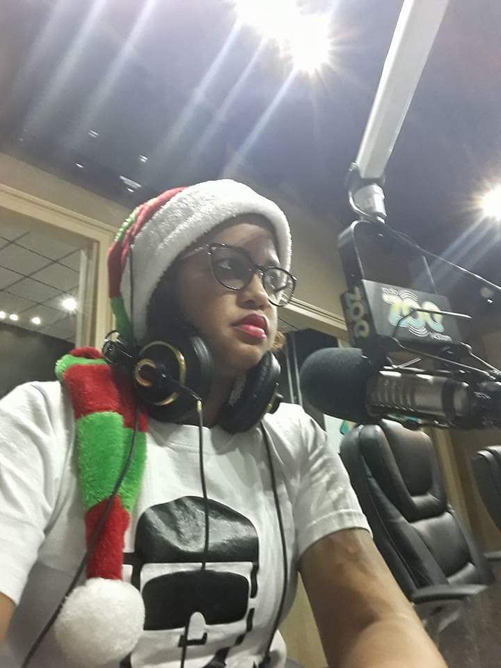 December 2017, in our radio show Happy Weekend.