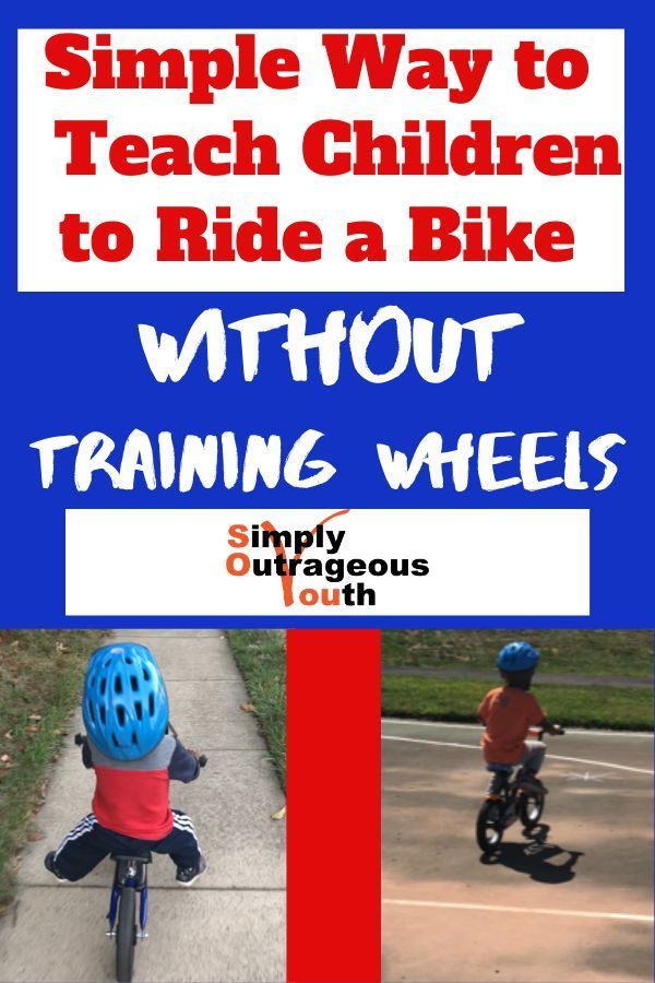 Simple Way To Teach Kids To Ride A Bike Without Training Wheels