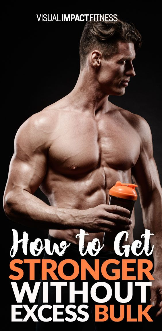 Here is the method behind building strength in a muscle without increasing its mass...