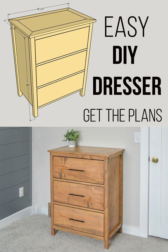Easy 3 Drawer Diy Dresser With Plans Anika S Diy Life Diy