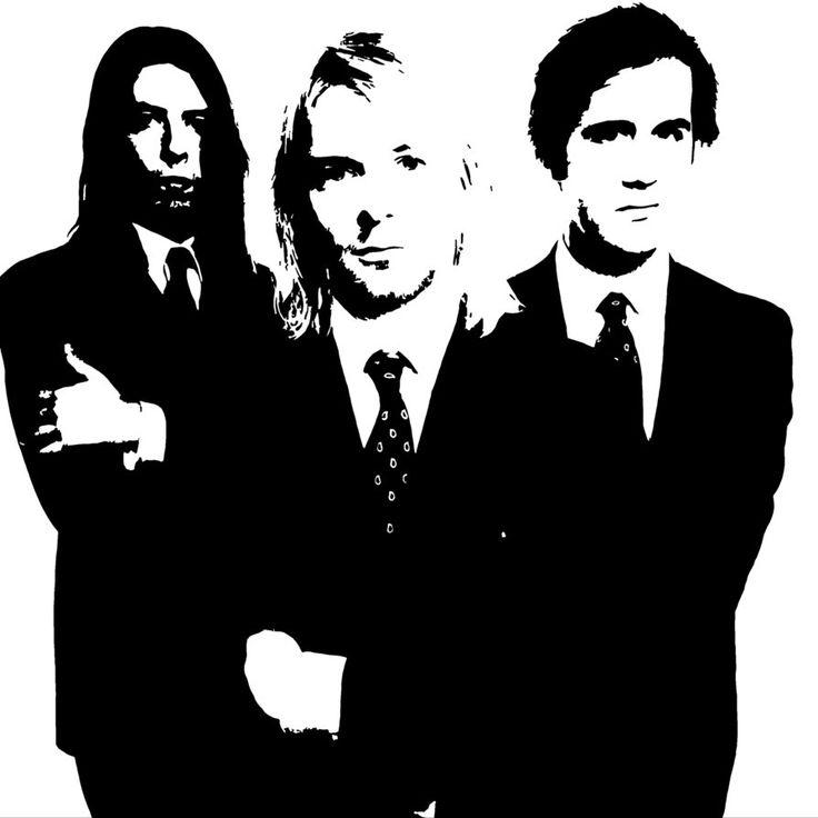 плакат рок группы