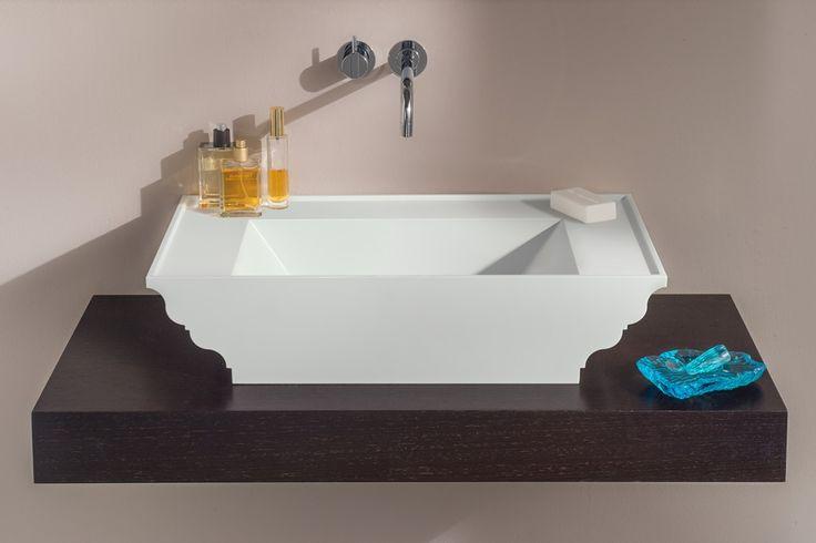Aufsatzwaschtisch Grandtour - passend zu Badewanne Grandtour