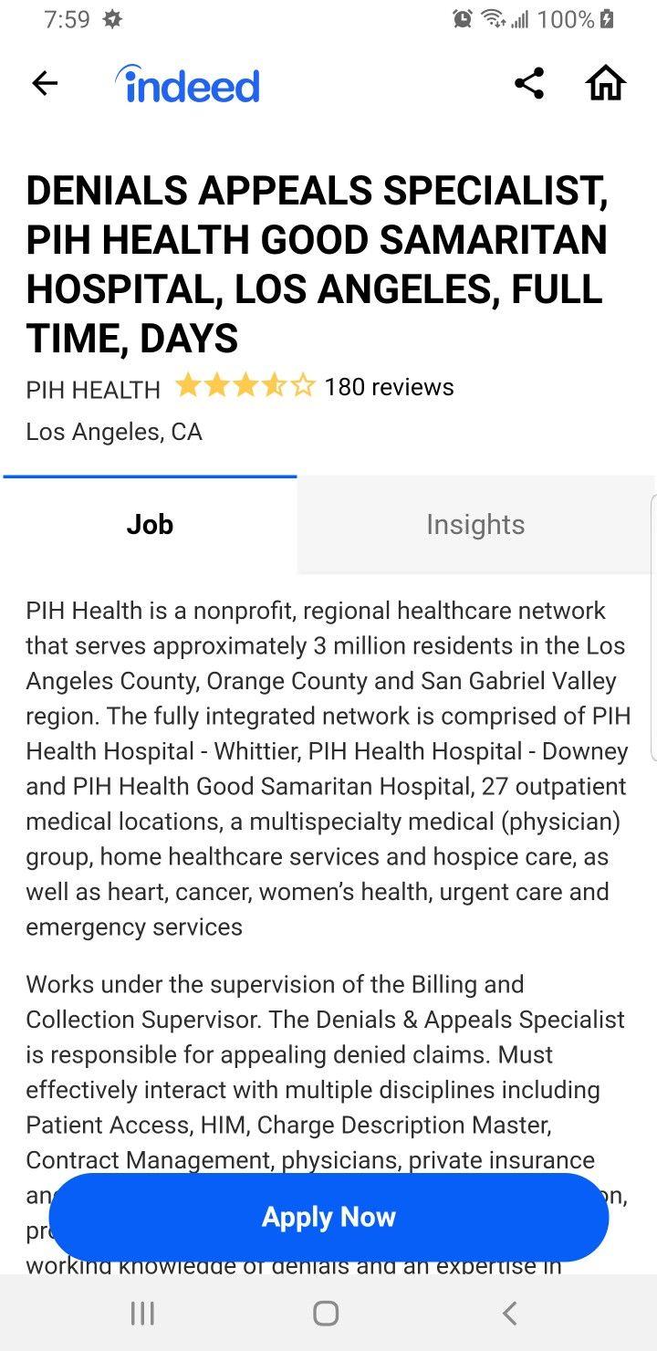 Pin By J Est On Saved Good Samaritan Hospital Denial Insight
