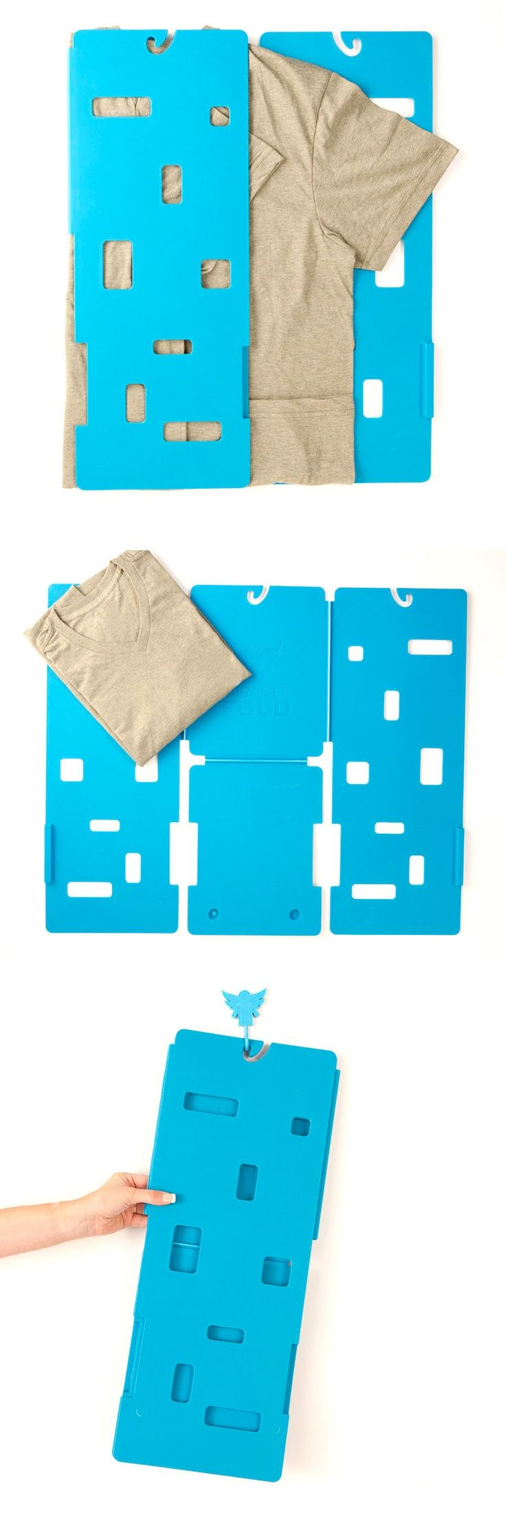 Easy Laundry Folder: A useful gift for organized people! www.MyWonderList.com