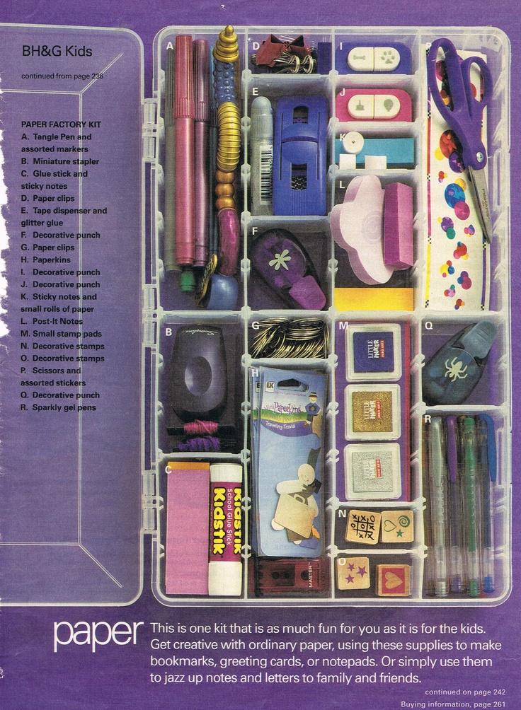 Babysitting Kit Part VI (BH&G;, Sept 2002)