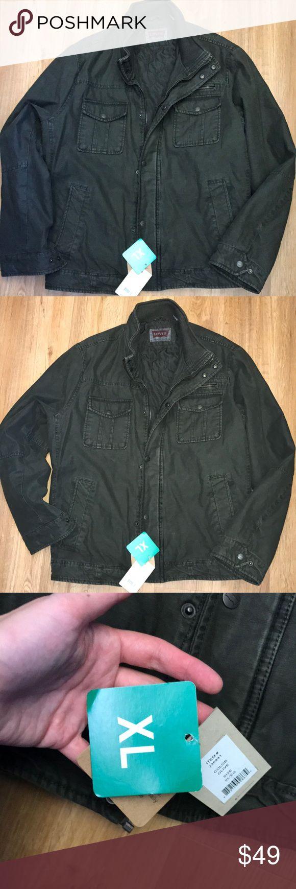 New Levi's men's Parka jacket size Xl New Levi's jacket size Xl Levis Jackets & Coats Military & Field