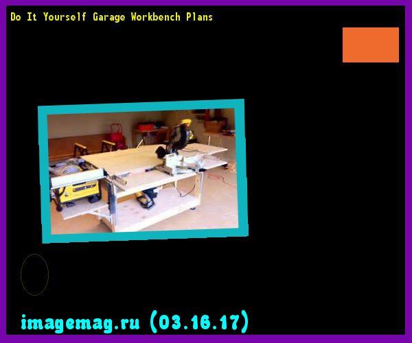 Do It Yourself Garage Workbench Plans: 1000+ Ideas About Garage Workbench On Pinterest
