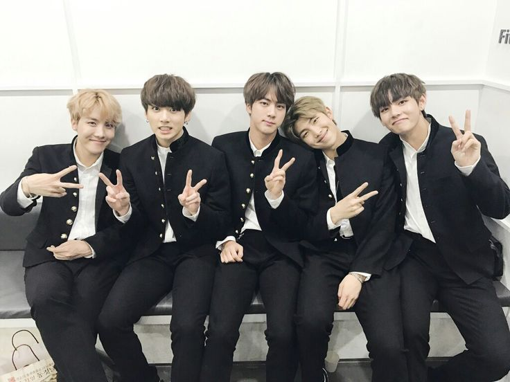BTS~ J-Hope~ Jungkook~ Jin~ Rap Monster~ V~