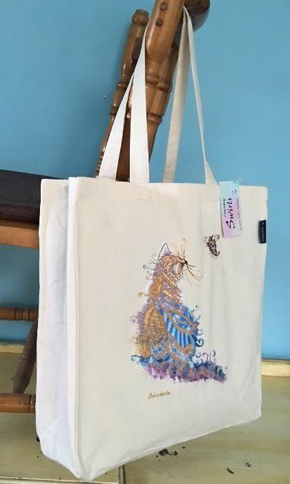 Cat bag www.countryswirls.com