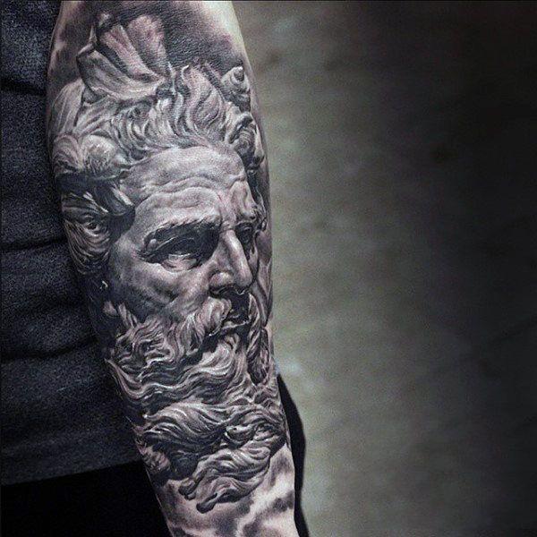 Buscar Tatuajes Sobre El Dios Zeus Ideas De Tatuajes