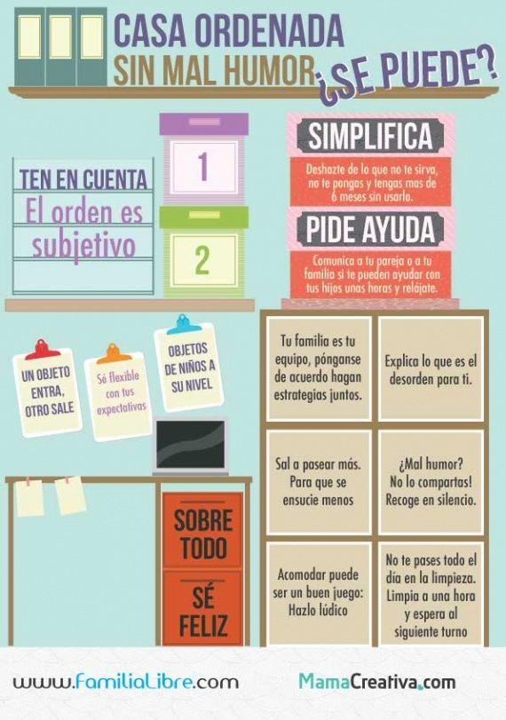 1000 ideas sobre organizar un desorden de papeles en - Plan de limpieza de una casa ...