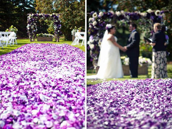 Freeze Dried Petals for Fall Weddings