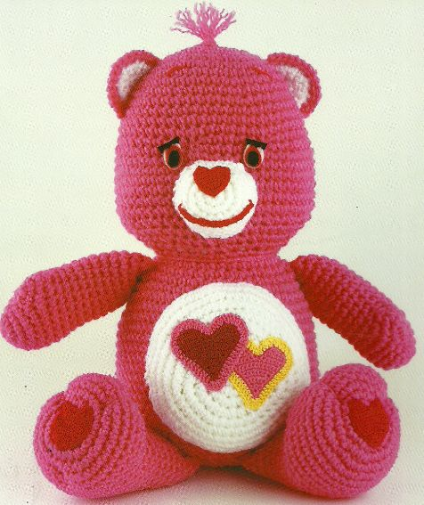 The Vintage Toy Chest: Crochet Patterns care bear pattern no longer on site but some great vintage crochet patterns