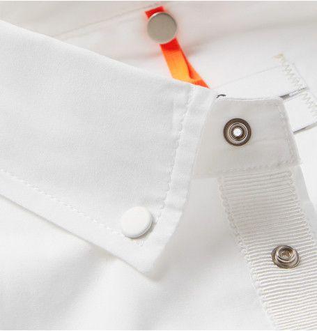 OAMC Bonded Back-Pocket Cotton-Poplin Shirt