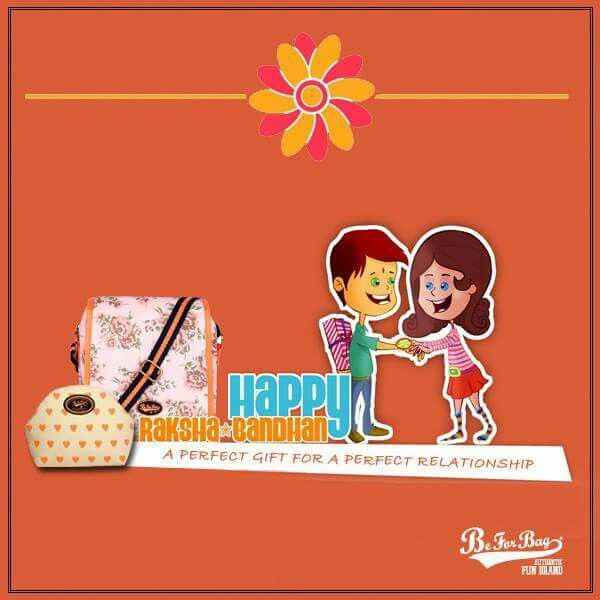 Celebrate a special bond with extra special gifts. Shop Now!! HAPPY RAKSHA BANDHAN #beforbag #bags #rakshabandhan #gifts