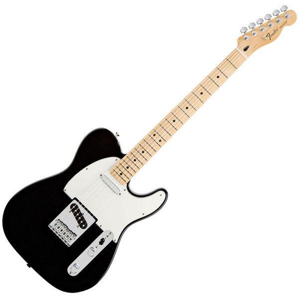 Fender Standard Telecaster, Black, Maple Neck at Gear4Music.com