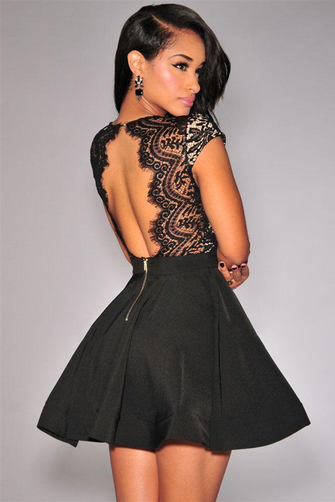 vestido de vuelo skater de fiesta sexy y genuino online, a un precio barato para tus fiestas y eventos. Prestigio Fashion tienda de moda exclusiva online