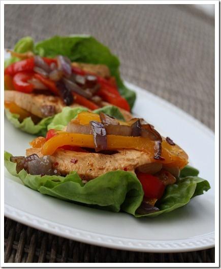 Chicken Stir-Fry Wraps Recipe — Dishmaps
