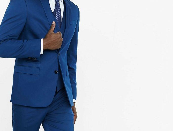 1001 Idees Pour Porter Le Costume Bleu Roi Comment Se