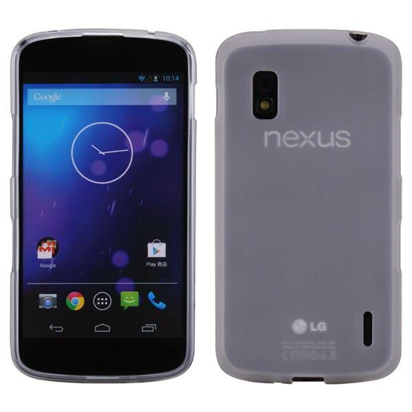 iMPACT Läpikuultava (Valkoinen) Google Nexus 4 Silikonisuojus - http://lux-case.fi/impact-lapikuultava-valkoinen-google-nexus-4-silikonisuojus.html