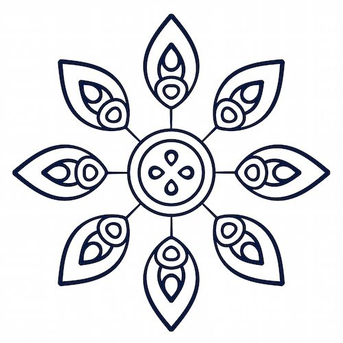Simple Mandala examples.