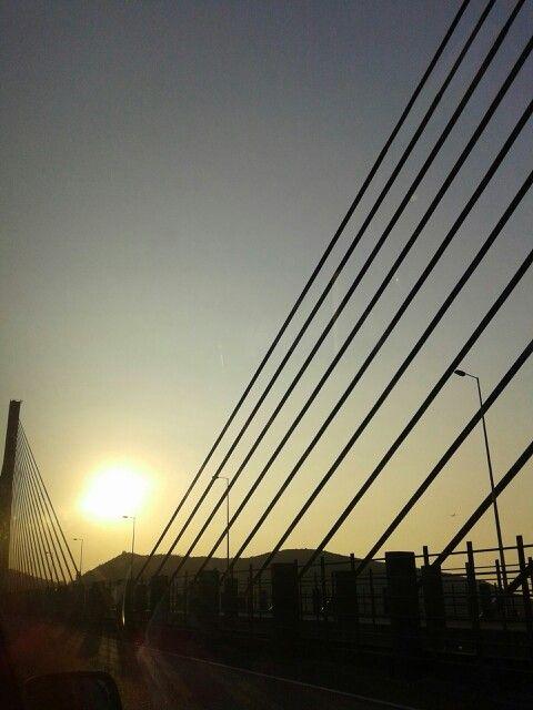 HK's beautiful sunset