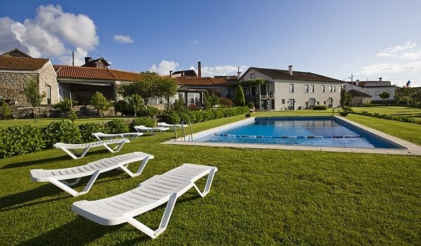 Pool and gardens. Mountain Beiras, Portugal. http://www.hideawayportugal.com/modules/property/listing-1022.htm