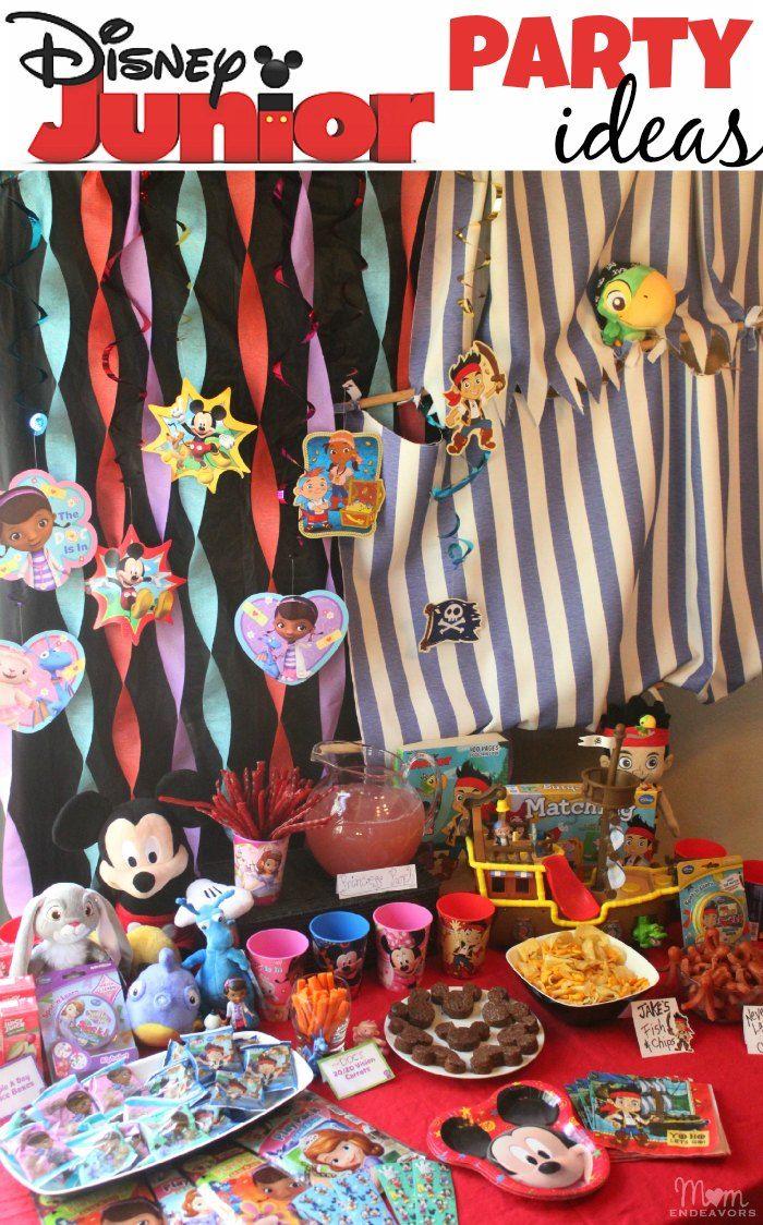 So many cute & easy Disney Junior party ideas! #juniorcelebrates #shop #disney