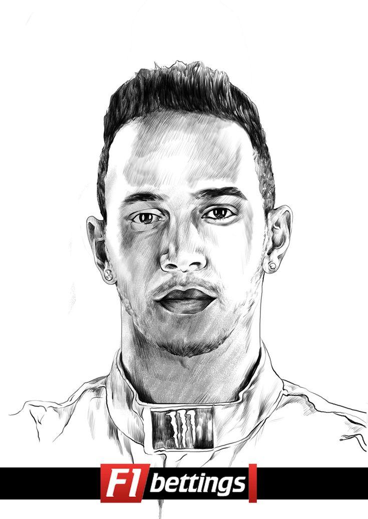 F1 driver Lewis Hamilton f1-bettings.com