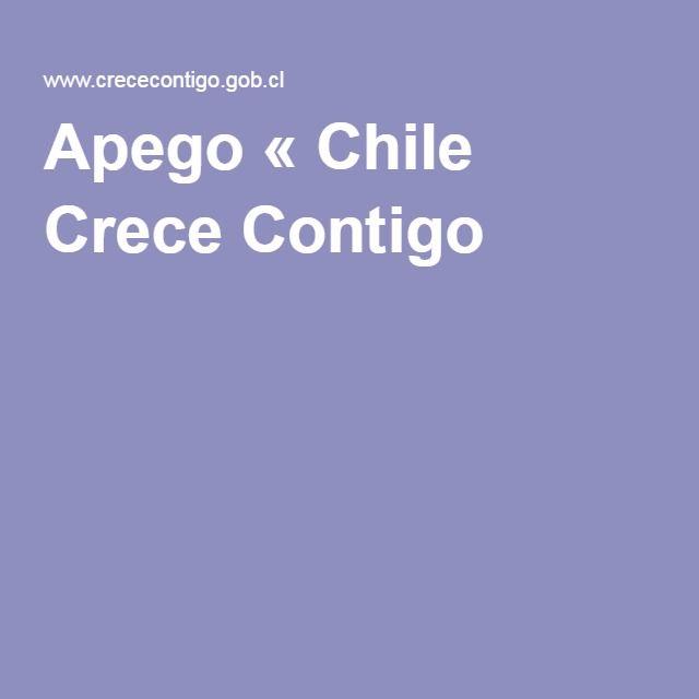 Apego « Chile Crece Contigo