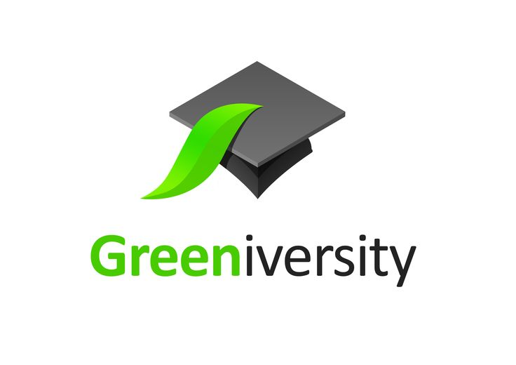 Unused Greeniversity logo as designed by Lee Mason of Free Thinking Design