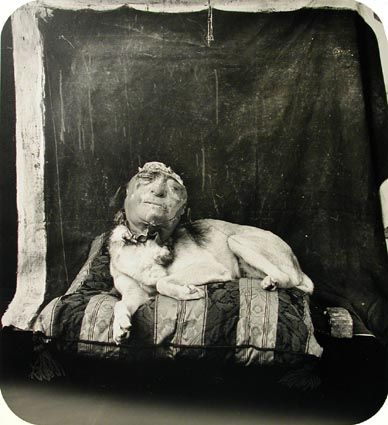 Dog On A Pillow (1994) Joel-Peter Witkin