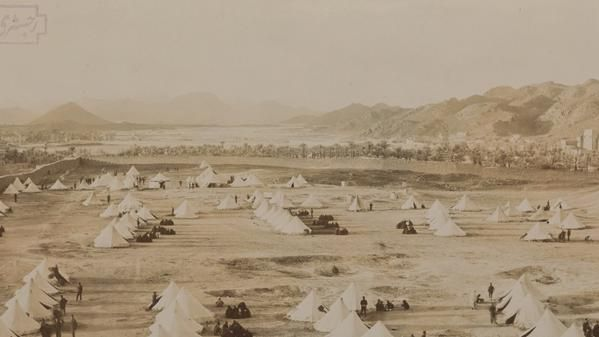 Camps of Ottoman troops at Medina in 1907