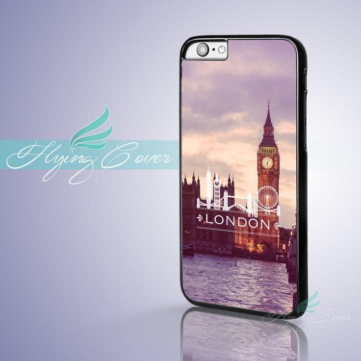 Capa City London Case for iPhone 7 6 6S Plus 5S SE 5C 5 4S 4 Cover for iPod Touch 6 Case for iPod Touch 5 Case.