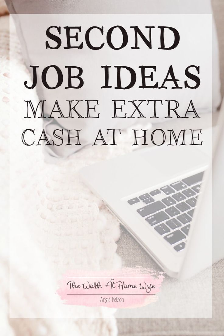 Do you need extra cash but can�t stand the thought of most second job ideas? Here are some great moonlighting opportunities you can do from home.