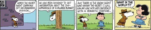 Peanuts for 9/5/2014 | Peanuts | Comics | ArcaMax Publishing