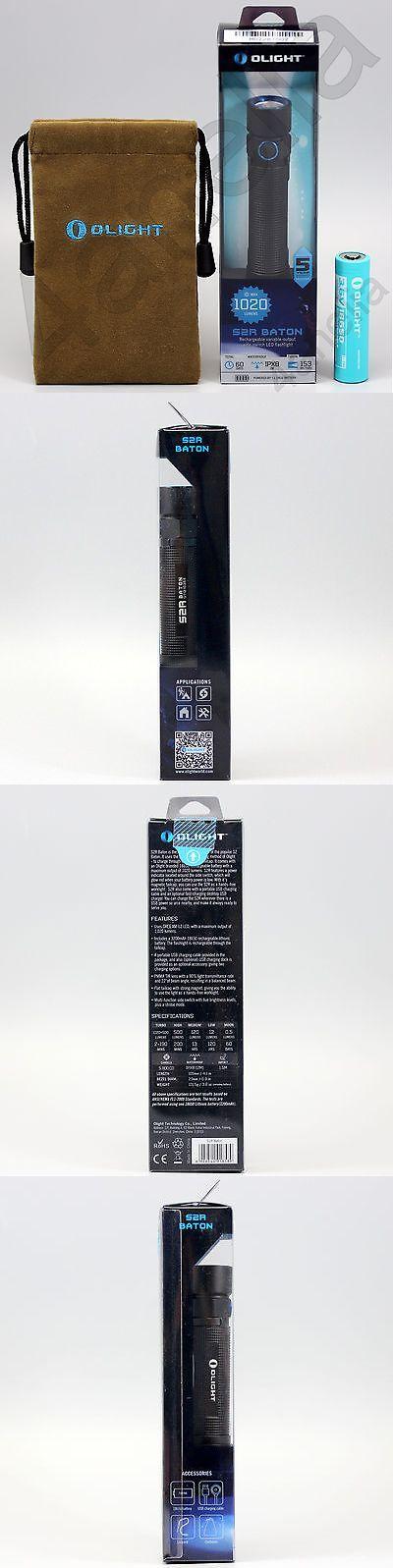 Flashlights 16037: Olight S2r Baton 1020 Lumens Usb Edc Led Flashlight W 18650 3200Mah Battery Nib -> BUY IT NOW ONLY: $69.95 on eBay!