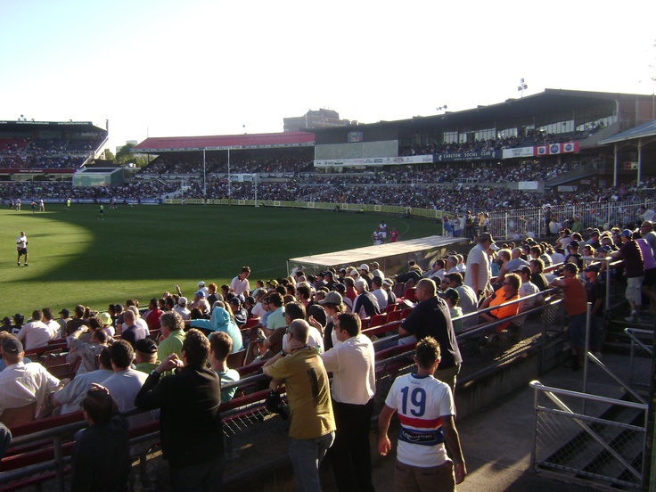 The Heatley Stand and George Harris Stand as they appeared in 2008.