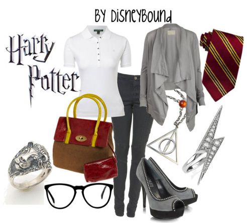 Harry Potter: Harry Potter Outfits, Fashion, Clothing, Harrypotter, Harry Potter Style, Dresses, Inspiration Outfit, Disney Bound, Disneybound