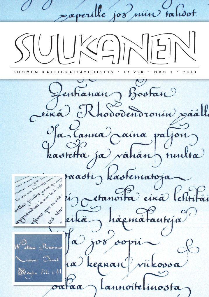Sulkanen-lehti www.kalligrafia.org