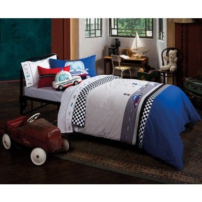 Cops & Robbers Quilt Cover Set by Kas Kids