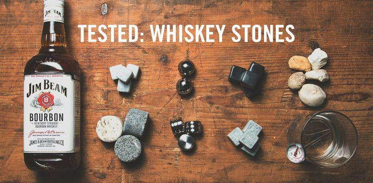 We Tested a Bunch of Whiskey Stones to See Which Were The Best