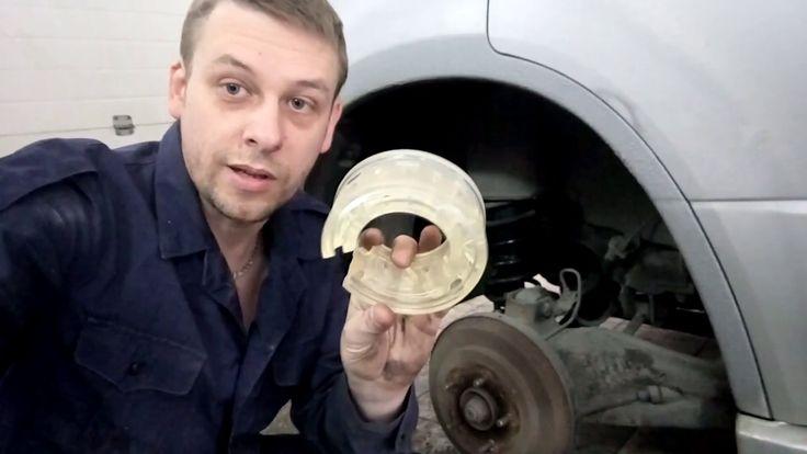 "Установка китайских ""автобаферов"" начало теста"
