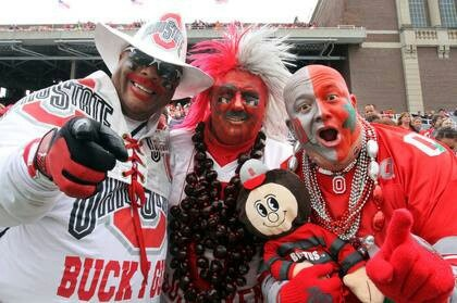 This is how we do it in Ohio. I have met all of them at OSU football games!!