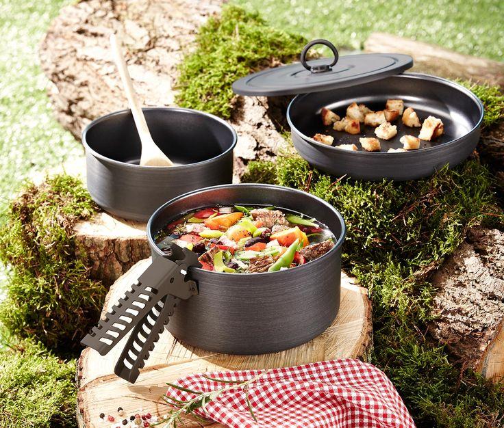 5-teiliges Camping-Kochgeschirr online bestellen bei Tchibo 317015