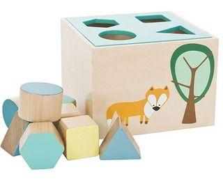houten speeldoos vos - creatief speelgoed - spelen en knuffelen - Sebra - Lunabloom - Stijlvolle en ...