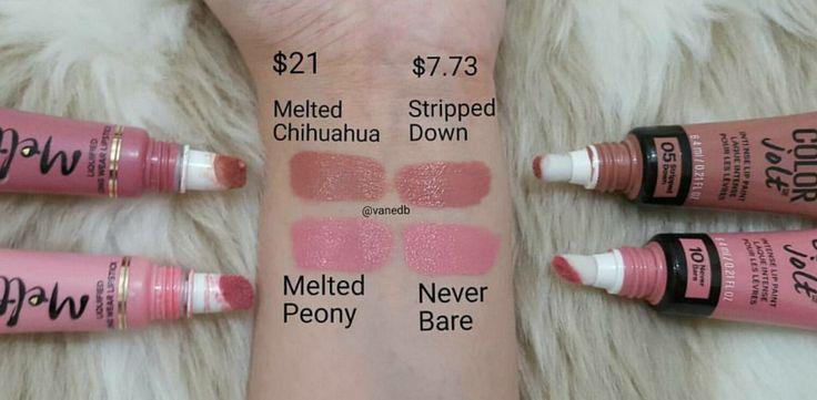 Nouveau Cheap: Spotted: NEW Maybelline Color Jolt Intense Lip Paints (Dupe Alert!)