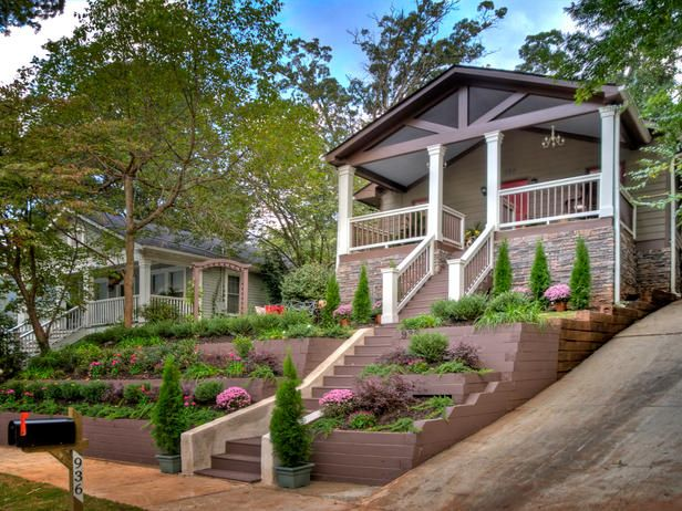 Backyard Hill Makeover : Landscape Makeovers, a Block at a Time  Front Yards, Landscaping