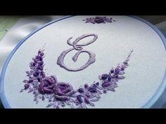 БРАЗИЛЬСКАЯ ВЫШИВКА| BRAZILIAN EMBROIDERY| Double cast on stitch - YouTube